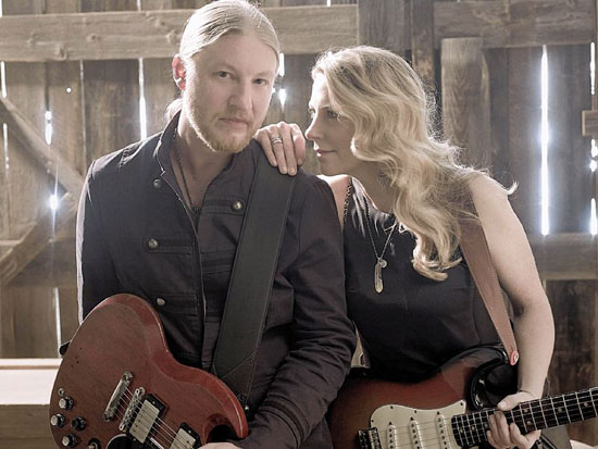 Derek Trucks and his wife and bandmate Susan Tedeschi (Photo courtesy Mark Seliger)