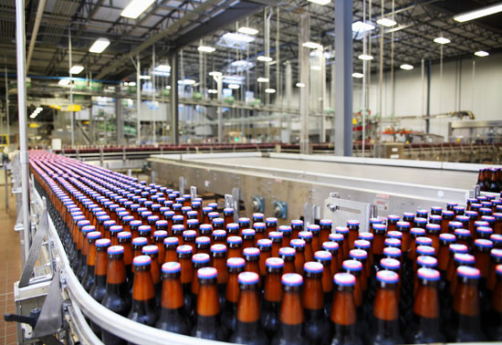 The bottle line at SweetWater's brewery. (Courtesy photo)