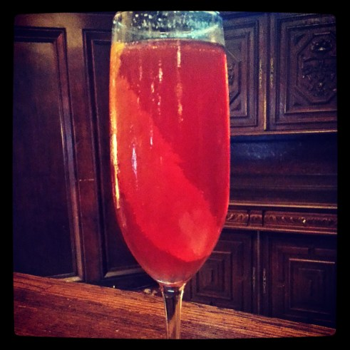 The Seelbach Hotel's namesake cocktail is a bubbly-based sip. Photo courtesy Kelly Magyarics.