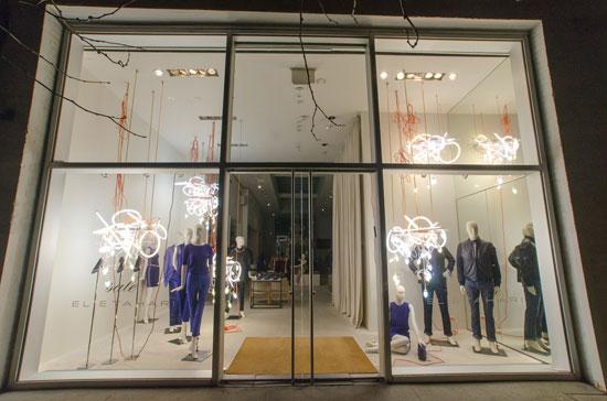 Elie Tahari's Soho shopfront (Photo by Pete via Flickr)