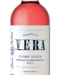 Vera Vinho Verde Rosé is spritzy and fun. Photo courtesy Vera Vinho Verde.