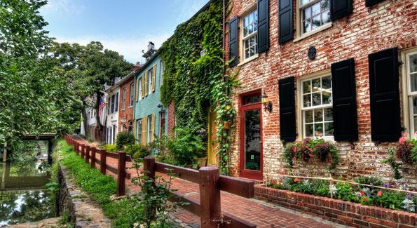 C&O Canal in Georgetown (Photo by Terra Trekking via Flickr)