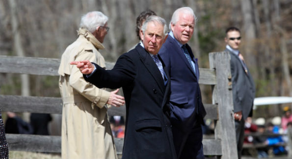 Prince Charles at Mount Vernon (Photo by John Arundel)