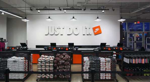 Inside the Nike community store (Photo courtesy Nike)