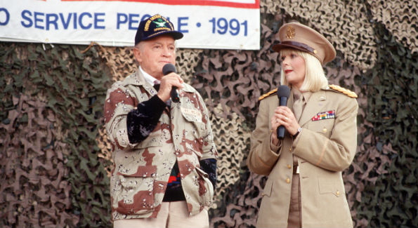 Bob Hope and Ann Jillian (Image by Lietmotiv - Flickr)