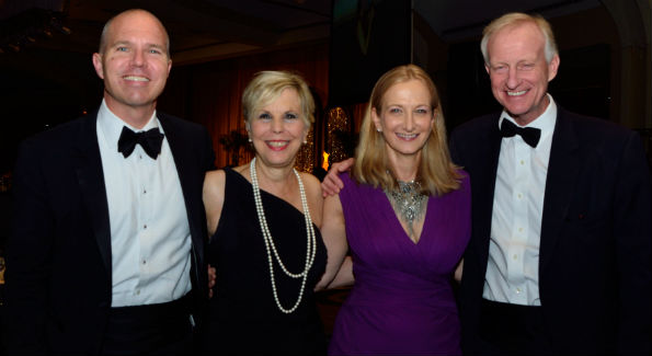 David Catania, Marie Drissel, Lisa LaFontaine and Jack Evans (Photo credit WHS)