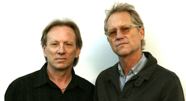 Legendary 70's band America (L-R: Co-founders Dewey Bunnell and Gerry Beckley) plays The Birchmere Tuesday Wedneday July 1st (courtesy America)