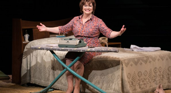 """Barbara Chisholm as Erma Bombeck in """"Erma Bombeck: At Wit's End"""" at Arena Stage at the Mead Center for American Theater. (Photo by C. Stanley Photography)"""