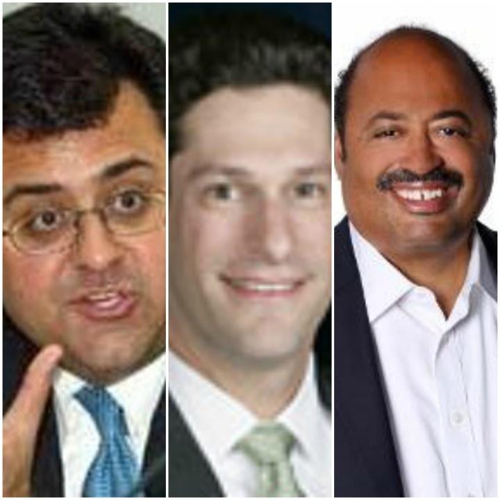 Karam Bhatia, Joel Kaplan and Frederick Humphries