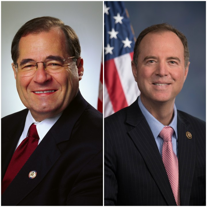 Jerry Nadler and Adam Schiff