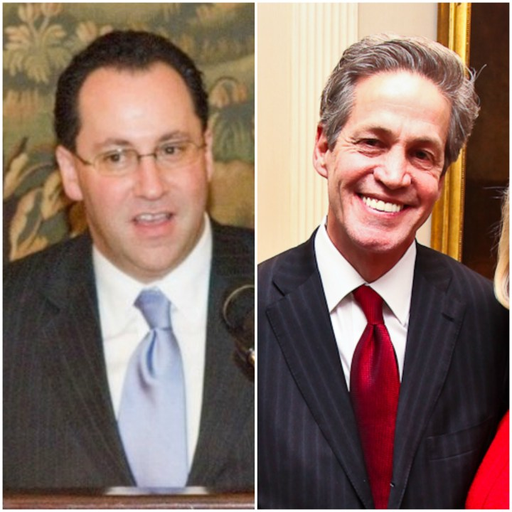 Matthew Brooks and Norm Coleman