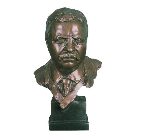 Theodore Roosevelt Bust ($ 495)