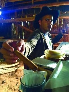 Cuba tobacco farmer