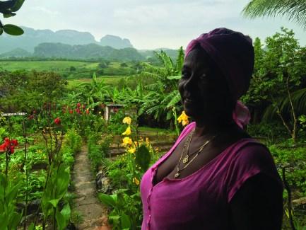 Cuba woman Vinales Valley