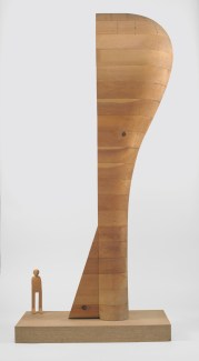 "Martin Puryear, maquette for ""Bearing Witness"""