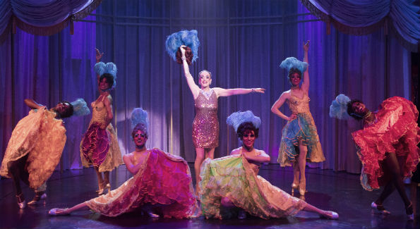 """La Cage aux Folles"" is now playing at Signature Theatre through July 10, 2016. Photo by Christopher Mueller."
