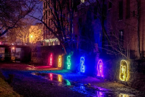 'Wired People: The Canal Clan' at Georgetown Glow (Courtesy Photo)