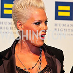 Photo by Tony Powell. P!nk. 14th Annual HRC Dinner. October 9, 2010