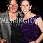 Photo by Tony Powell. Sigi Friedman and Dinner Co-Chair Marjorie Chorlins. 14th Annual HRC Dinner. October 9, 2010
