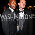 Photo by Tony Powell. Sultan Shakir, Billy Lechert. 14th Annual HRC Dinner. October 9, 2010