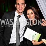 Photo by Tony Powell. Daniel Heimpel, Lindsay Ellenbogen. Angels in Adoption Gala. Reagan Building. October 6, 2010