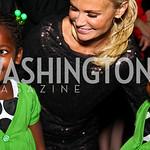 Photo by Tony Powell. Naomi Chew, Kristin Chenoweth, Ruth Chew. Angels in Adoption Gala. Reagan Building. October 6, 2010