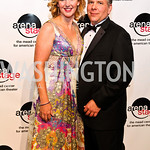 Photo by Tony Powell. Veronika Folz, Roger Klaffka. Arena Stage Opening Gala Celebration. Mead Center. October 25, 2010