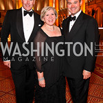 Photo by Tony Powell. Barry Dixon, Leah Gansler, Mark Lowham. Charity Works Dream Ball. National Building Museum. October 2, 2010