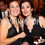 Photo by Tony Powell. Laura Coleman, Bahareh Klein. Charity Works Dream Ball. National Building Museum. October 2, 2010