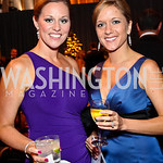 Photo by Tony Powell. Melissa Lawson, Erin West. Charity Works Dream Ball. National Building Museum. October 2, 2010