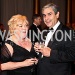 Photo by Tony Powell. Ann Page, Pedro Vila. Charity Works Dream Ball. National Building Museum. October 2, 2010