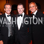 Photo by Tony Powell. Ankie Barnes, Barry Dixon, Mike Schmidt. Charity Works Dream Ball. National Building Museum. October 2, 2010