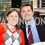 Photo by Tony Powell. Jessica Primanzon, Michael Hackmer. Fed Talks 2010. Harman Center. October 12, 2010