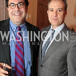 Photo by Alfredo Flores. Alan Fleishmann with Mexican Ambassador to the United States Arturo Sarakhan. An International Evening of Excellence In Honor of Global Kids in D.C. at the Residence ...