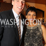 Photo by Alfredo Flores. Mark Warner Audrey Marks  . An International Evening of Excellence In Honor of Global Kids in D.C. at the Residence of the French Ambassador. December 12, 2010
