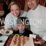 Photo by Alfredo Flores. Katherine Gage Gabriel de Kergonlay Daniel Boulud . An International Evening of Excellence In Honor of Global Kids in D.C. at the Residence of the French Ambassador. ...