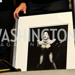 Photo by Tony Powell. Madonna portrait by Herb Ritts. WTT VIP Reception with Elton John. Bender Arena. November 15, 2010