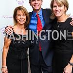 Photo by Tony Powell. Karen Ehrensaal, John and Barbara Yosaitis. Wings of Hope Gala. Trump Golf Club. November 6, 2010