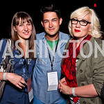 Sadie Tillery, David Wilson, Charlotte Cook. Silverdocs Opening Night After Party. Photo by Tony Powell. The Fillmore. June 18, 2012