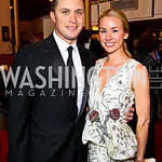 Harold Ford Jr. and Emily Threkeld Ford. Kennedy Center Spring Gala. Photo by Tony Powell. April 3, 2011