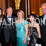 Shannon Jameson, Jim Kimsey, Vicki Sant, Rep. Doris Matsui, Roger Sant. Kennedy Center Spring Gala. Photo by Tony Powell. April 3, 2011