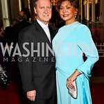 William Cohen and Janet Langhart Cohen. Kennedy Center Spring Gala. Photo by Tony Powell. April 3, 2011