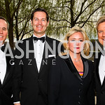 Matt McCormick, Chad Hoeft, Lyn and Mark McFadden. Kennedy Center Spring Gala. Photo by Tony Powell. April 3, 2011