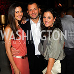 Kate Michel Pierre-Louis Renou,Anna Croll,Events DC Launch Event At SAX Restaurant,June 22,2011,Kyle Samperton