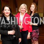 Melanie McCarthy, Judith Voss, Jackie Dolan, Grand Opening of Harth Restaurant, April 27, 2011, Kyle Samperton