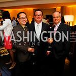 Anthony Imamora, Clifton Tucker, Greg Olson, Grand Opening of Harth Restaurant, April 27, 2011, Kyle Samperton