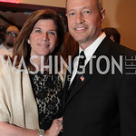 Katie O'Malley, Maryland Governor Martin O'Malley. National Wildlife Federation's 75th Anniversary Gala honoring Robert Redford at Hyatt Regency Capital Hill. Photo by Alfredo Flores. Apri ...