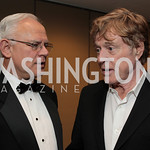 Larry Schweiger, Robert Redford, National Wildlife Federation's 75th Anniversary Gala honoring Robert Redford at Hyatt Regency Capital Hill. Photo by Alfredo Flores. April 13, 2011.