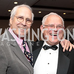 Chevy Chase, Larry Schweiger. National Wildlife Federation's 75th Anniversary Gala honoring Robert Redford at Hyatt Regency Capital Hill. Photo by Alfredo Flores. April 13, 2011.