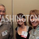 Jim Fowler, Virginia Burkett, Marcia McNutt. National Wildlife Federation's 75th Anniversary Gala honoring Robert Redford at Hyatt Regency Capital Hill. Photo by Alfredo Flores. April 13,  ...